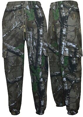 £13.95 • Buy Mens Camouflage Jungle Print Cargo Combat Fleece Jogging Bottoms Trouser M-5XL