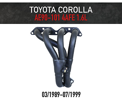 AU182.75 • Buy Headers / Extractors For Toyota Corolla 1.6L 4AFE AE90-AE101 (1989-1999)