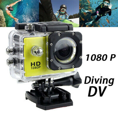 AU26.44 • Buy New 1080P Ultra HD Sports Action Camera DVR Cam Waterproof Camcorder Cube GoPro