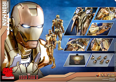$ CDN301.70 • Buy Hot Toys Mms586-d36 Iron Man Mark Xxi Mk21 Midas 1/6 Figure Sealed