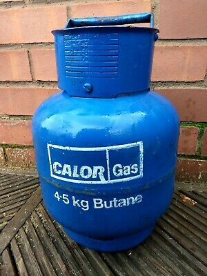 Nearly Empty CALOR GAS 4.5KG BOTTLE CYLINDER (BUTANE) FOR BBQ'S HEATERS B388DD • 20£