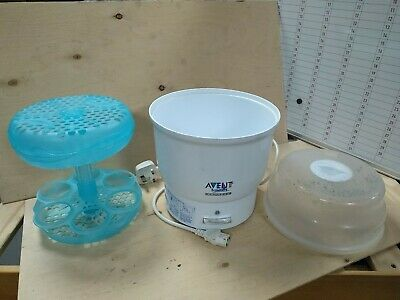 AU11.96 • Buy Philips Avent Naturally Express 6 Bottle Electric Steam Steriliser Need De-scale