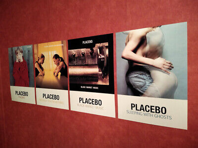 £12.99 • Buy Placebo A3 Poster Prints Album Art 4 Collection Without You I'm Nothing