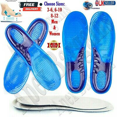 £4.25 • Buy Sports Running Shoe Insoles Orthotic Shock Absorb Olympic Inner Sole Arch Unisex