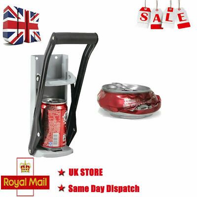 £7.99 • Buy 16oz 500ml Large Beer Tin Can Crusher Wall Mounted Recycling Tool Bottle Opener