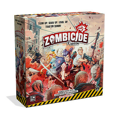 AU135 • Buy PREORDER Zombicide 2nd Edition Board Game Brand New