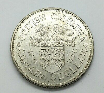 £7.84 • Buy 1971 Canada Dollar - KM# 80 | Silver Coin .50 | Canadian Commemorative