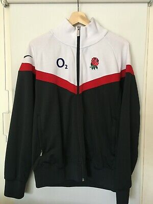 £24.99 • Buy England Team Rugby - Zip Up Training Jacket Jersey - Nike O2 - Mens M