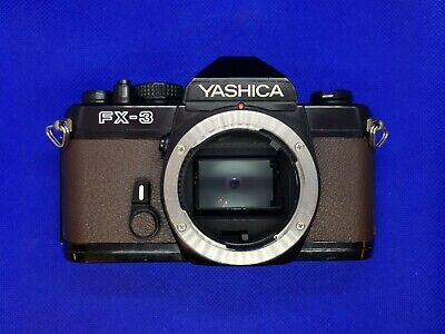 £44.99 • Buy Custom Yashica FX-3 35mm SLR Film Camera - With New Light Seals- Working