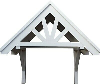£295 • Buy  Front Door Apex Canopy Roof / Wooden Bespoke Porch / Timber Awning Shelter