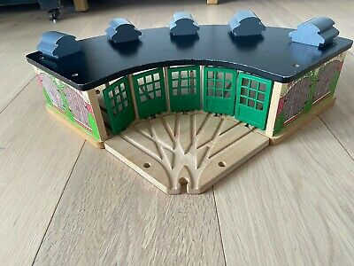£45 • Buy Thomas Wooden Railway Tidmouth Sheds & Track Splitter