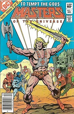 $18.50 • Buy Masters Of The Universe #1, 2, & 3 (1982)(DC) - ALL NEWSSTAND -- BRONZE AGE LOT