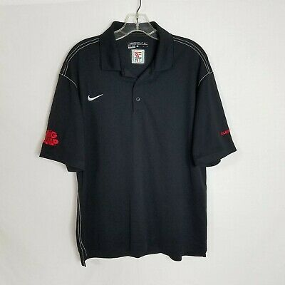 AU22.94 • Buy Nike Mens 7 Eleven 7-11 Embroidered Short Sleeve Polo Shirt Size Large R423