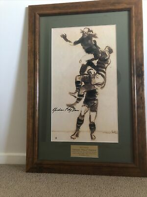 AU75 • Buy Geelong Cats Memorabilia Polly Farmer Picture AFL Signed
