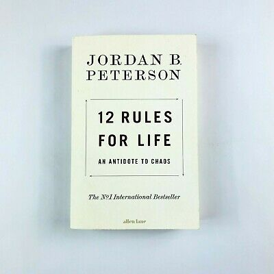 AU16.99 • Buy 12 Rules For Life Book By Jordan Peterson