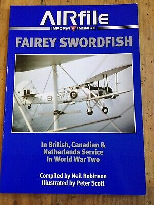 £18.95 • Buy Airfile Books 11 - Fairey Swordfish In Service In World War 2 (Softcover 2014)