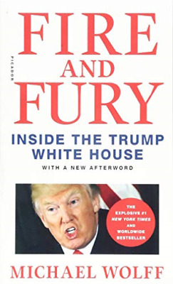 AU9.22 • Buy Wolff, Michael-Fire And Fury BOOK NEW