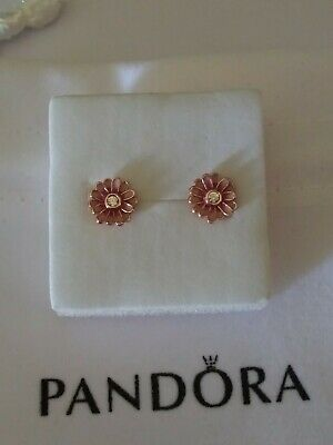 AU44.69 • Buy Authentic Pandora Rose Daisy Earrings