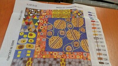 Ehrman Tapestry Kit Klimt Blue By Candace Bahouth • 55£