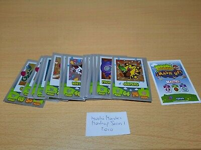 £1 • Buy Topps Moshi Monsters Mash Up, SM, Code Breakers, Moshling, Party. Check List