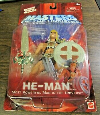 $34.99 • Buy 2001 Masters Of The Universe - He-man  - Action Figure - Mattel Unopened 5