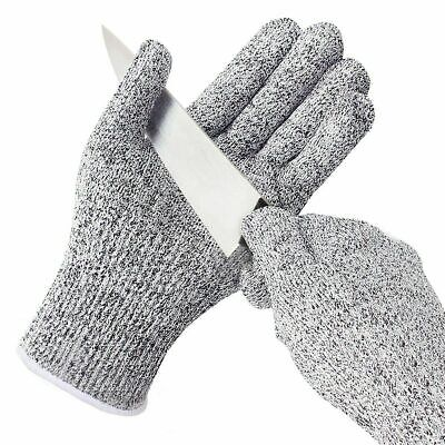 £4.49 • Buy Cut Resistant Level 5 Work Knife Safety Gloves Grip Protection Non Slip Uk