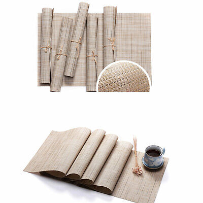 AU41.49 • Buy PVC Placemat Dining Table Runner Place Mats Kitchen Home Decor Washable Non Slip