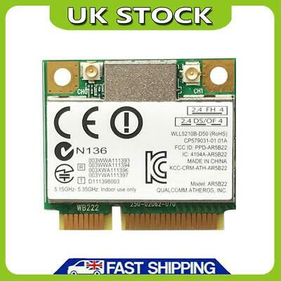 £6.99 • Buy 2.4G/5G Mini PCI-E Wireless Adapter 300M Bluetooth WiFi Network Card For Laptop