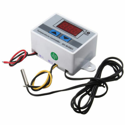 £3.75 • Buy XH-W3001 New Digital LED Temperature Controller Thermostat Control Switch TT0648