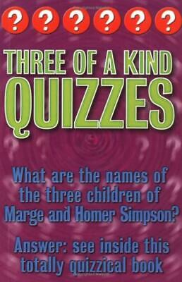 £1.78 • Buy Categorically Quizzes: Three Of A Kind Quizzes - Christopher Rigby - Good - P...