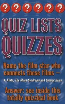 £1.89 • Buy Quiz Lists Quizzes: Three Of A Kind - Christopher Rigby - Good - Paperback