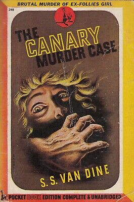 £10.49 • Buy The Canary Murder Case - S S Van Dine - Pocket Books - Acceptable - Paperback