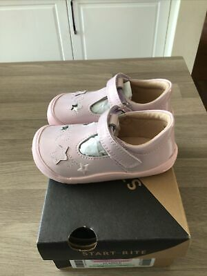 £25 • Buy StartRite Girls Shoes Pink Sparkle Size Infant 4.5F