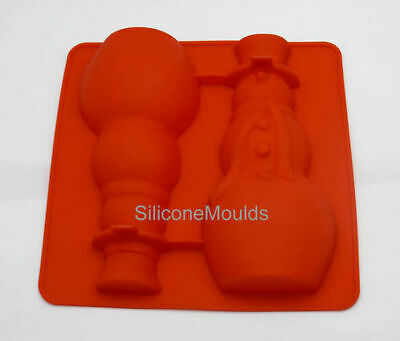 £5.99 • Buy SNOWMAN 3D Christmas Xmas Figure Silicone Hollow Chocolate Mould Mold Candy Cake