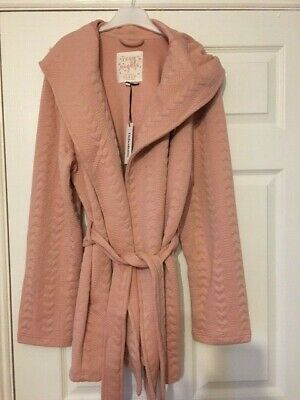 AU16.92 • Buy Ladies Pink Dressing Gown (Debenhams) Size 16, BRAND NEW With Tags (rrp £30)