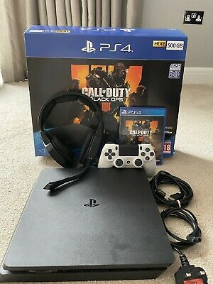 £100 • Buy Playstation 4 Console + Controller + Headset + Call Of Duty