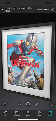 $124.99 • Buy VEVE NFT⚡️THE RISE OF ULTRAMAN #1 Common #7664 COMIC COVER Alex Ross