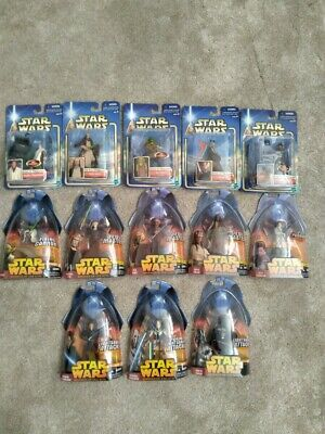 $ CDN37.51 • Buy Star Wars Episode Two And Three Vintage Action Figures In Box Lot Of 13 New