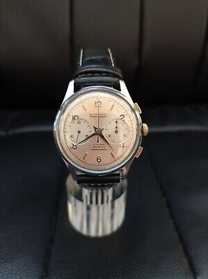 $ CDN362.76 • Buy Thermidor Vintage Chronograph, Watch Landeron 248 Working And Leather Bracelet