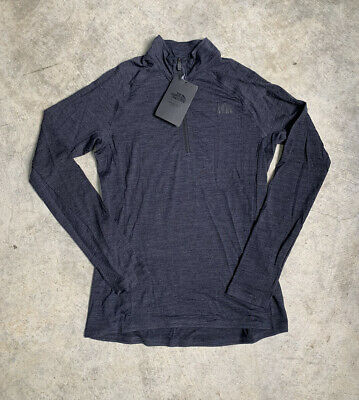 £63.71 • Buy North Face Wool Base Layer 1/4 Zip Womens Size Small New Merino Wool