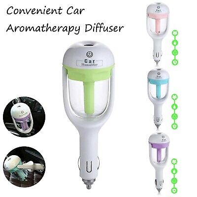 AU17.98 • Buy Portable Mini USB Car Air Humidifier Essential Oil Diffuser Auto Off  Aromather