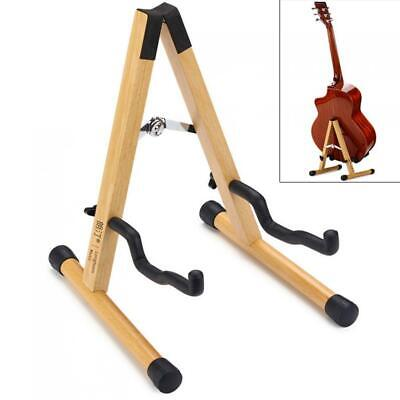 $ CDN39.03 • Buy Solid Wood Floor Guitar Stand Thicken Beech Stable Holder For Electric Acoustic