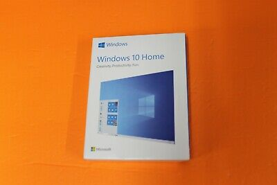 $ CDN42.26 • Buy Microsoft Windows 10 Home USB Box Drive 32/64 Bit Full Version With License Key