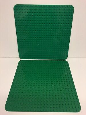 £19.99 • Buy 2 X Lego Duplo Large Base Plate/Board Green 22x22 Studs Nice Condition Genuine