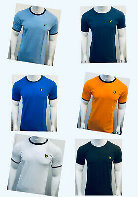 £11.99 • Buy LYLE AND SCOTT SHORT SLEEVE CREW NECK T-SHIRT (different Collar) 100% COTTON