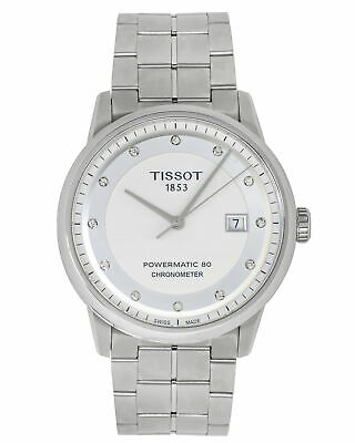$ CDN1.20 • Buy Tissot Luxury Diamond Automatic Men's Watch T0864081101600, Msrp: $1,450