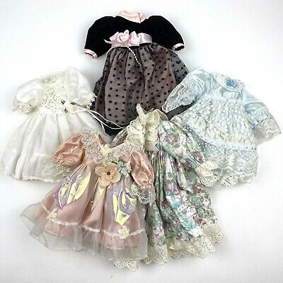 $ CDN12.09 • Buy Lot Of 5 Porcelain Doll Dresses Only Different Styles For Dolls Arts Crafts