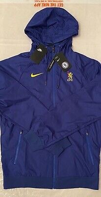 £69.99 • Buy Nike Authentic Chelsea Fc Mens Hoodie Football Jacket Coat Brand New With Tags S