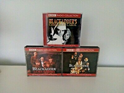£6.99 • Buy BLACKADDER 3x CDs. BBC RADIO COLLECTION.Goes Forth , Xmas Carol, Blackadder 2