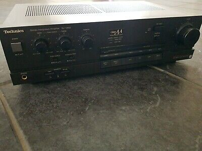 £48 • Buy Technics SuV450 Stereo Intergrated Amplifier Class AA VC4